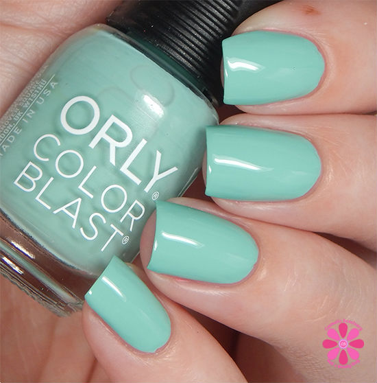ORLY Color Blast Disney Ariel Collection Secret Grotto Swatch