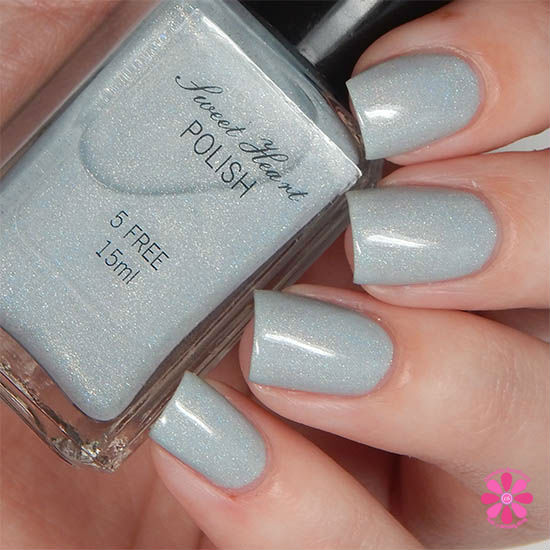 Addicted To Holos Sweet Heart Polish Summer Breeze Swatch