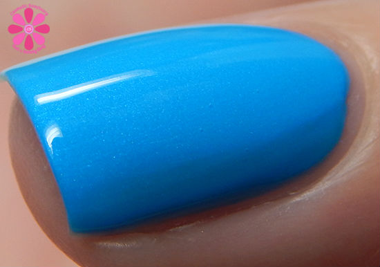 ORLY Color Blast Disney Ariel Collection Under The Sea Swatch macro