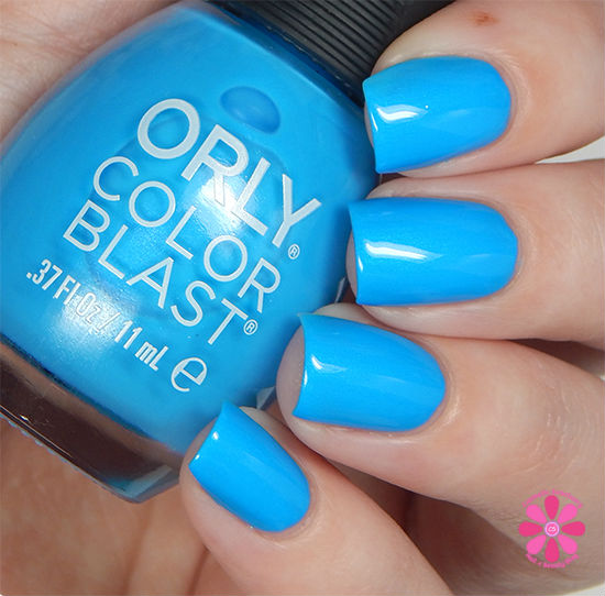 ORLY Color Blast Disney Ariel Collection Under The Sea Swatch