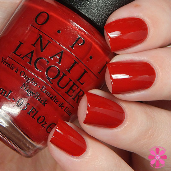 OPI Fall 2015 Venice Collection Amore at the Grand Canal Swatch