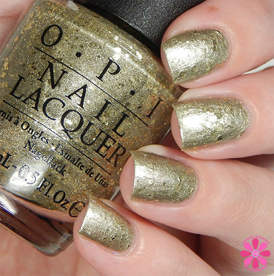OPI Fall 2015 Venice Collection Baroque...But Still Shopping Swatch