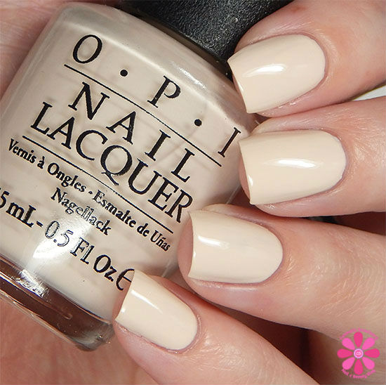 OPI Fall 2015 Venice Collection Be There in a Prosecco Swatch