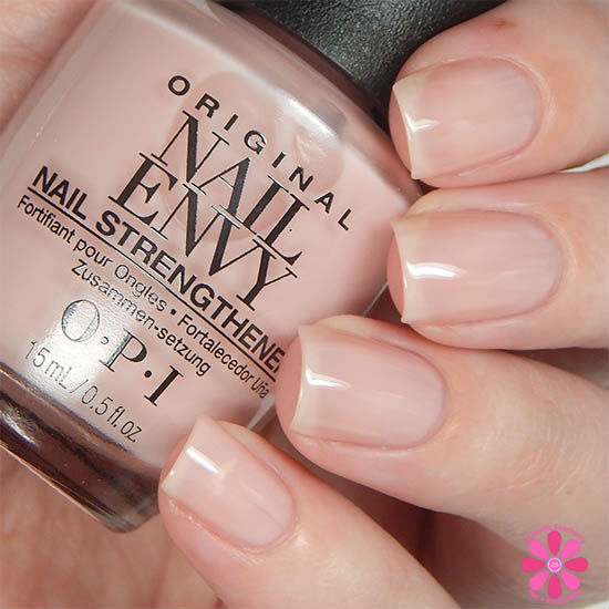 OPI Nail Envy Bubble Bath Swatch