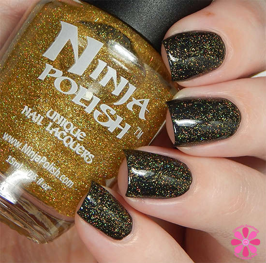 Ninja Polish Infinity Gems Collection Infinity Gauntlet Swatch