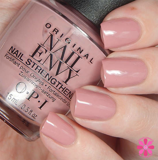 OPI Nail Envy Hawaiian Orchid Swatch
