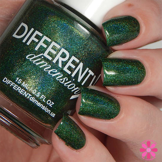 DIFFERENT dimension Imperium Sine Fine for August 2015 A Box, Indied Swatch