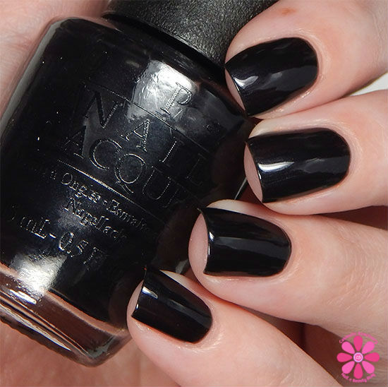 Black Nail Polish Swatch: OPI Fall 2015 Venice Collection Swatches & Review