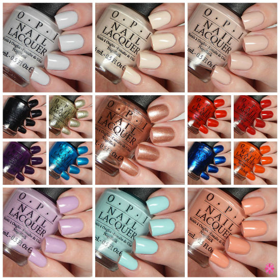 OPI Fall 2015 Venice Collection Overview