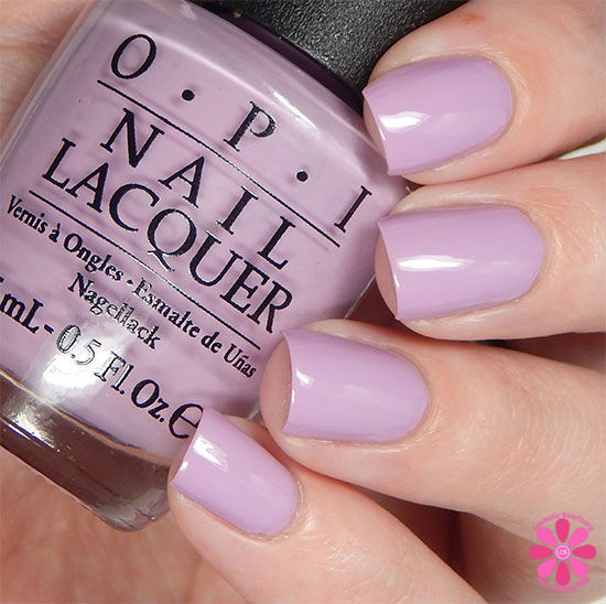 OPI Fall 2015 Venice Collection Purple Palazzo Pants Swatch