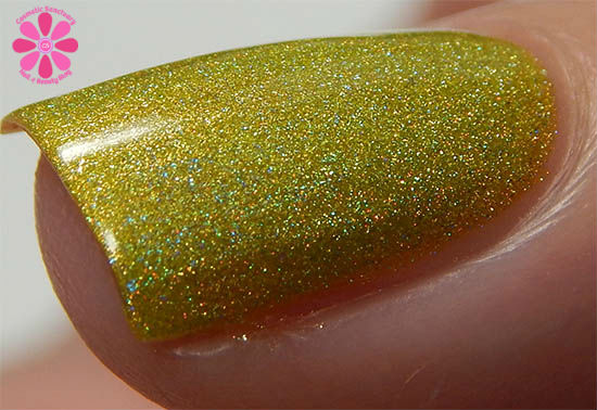 Ninja Polish Infinity Gems Collection Reality Swatch Macro