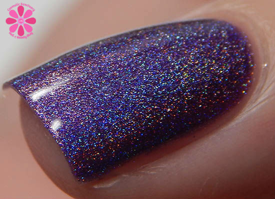 Ninja Polish Infinity Gems Collection Space Swatch Macro
