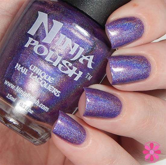 Ninja Polish Infinity Gems Collection Space Swatch