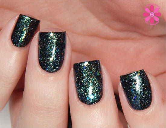 Dollish Polish Limited Edition The Dark Crystal Trio The Great Conjunction Swatch no bottle