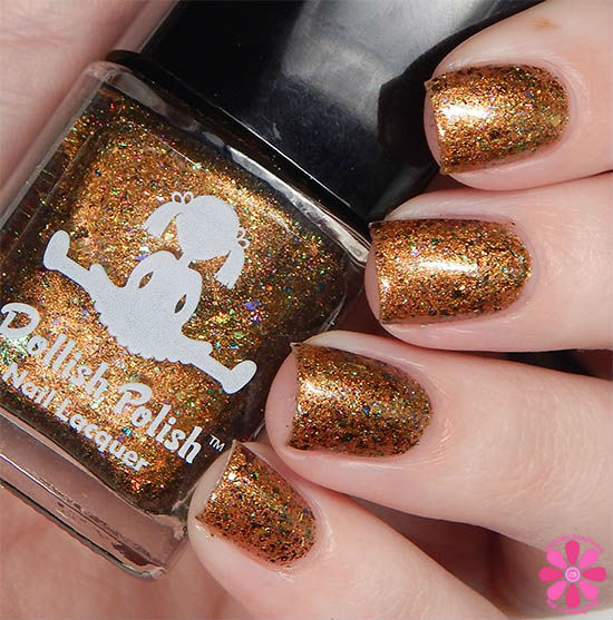 Dollish Polish Limited Edition The Dark Crystal Trio The Prophecy Of Jen Swatch