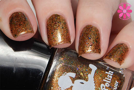 Dollish Polish Limited Edition The Dark Crystal Trio The Prophecy Of Jen Swatch up