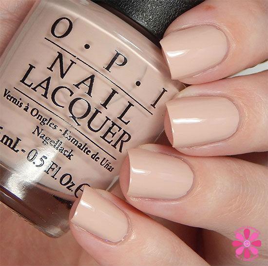 OPI Fall 2015 Venice Collection Tiramisu for Two Swatch