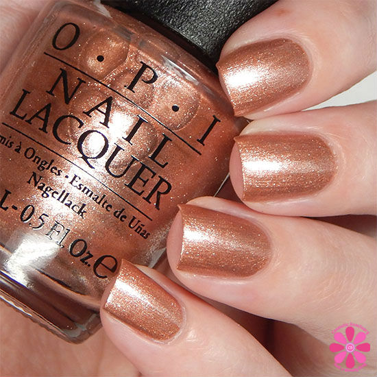 OPI Fall 2015 Venice Collection Worth a Pretty Penne Swatch