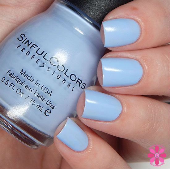 SinfulColors A Class Act Collection A-Crush Swatch