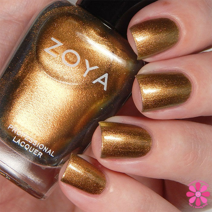 Zoya Fall 2015 Flair Collection Aggie Swatch
