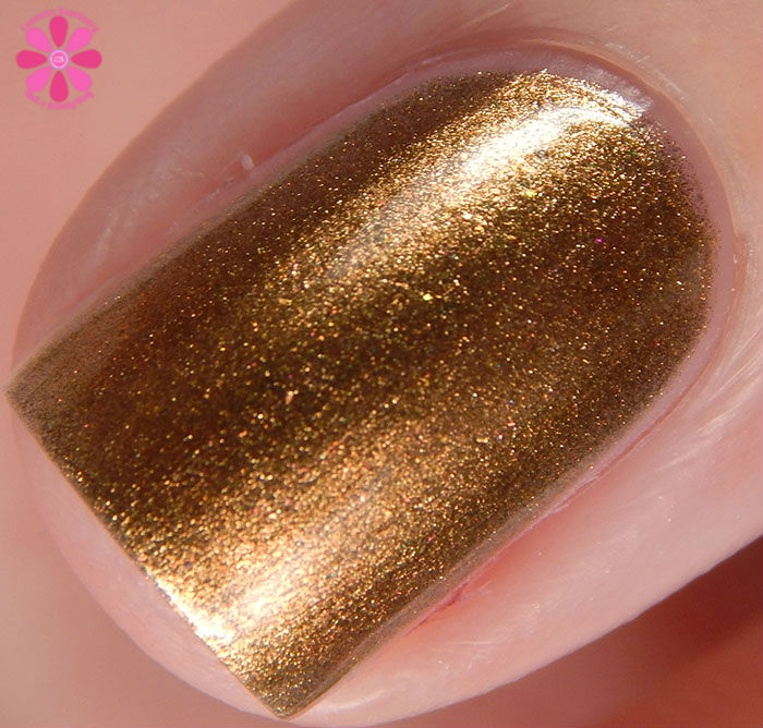 Zoya Fall 2015 Flair Collection Aggie Swatch Macro