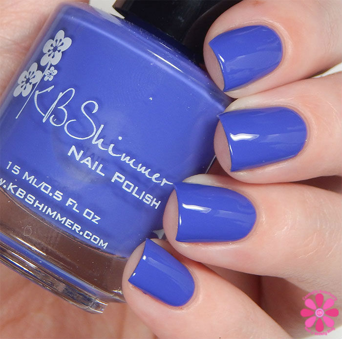 KBShimmer Fall 2015 Collection Breaking Blues Swatch