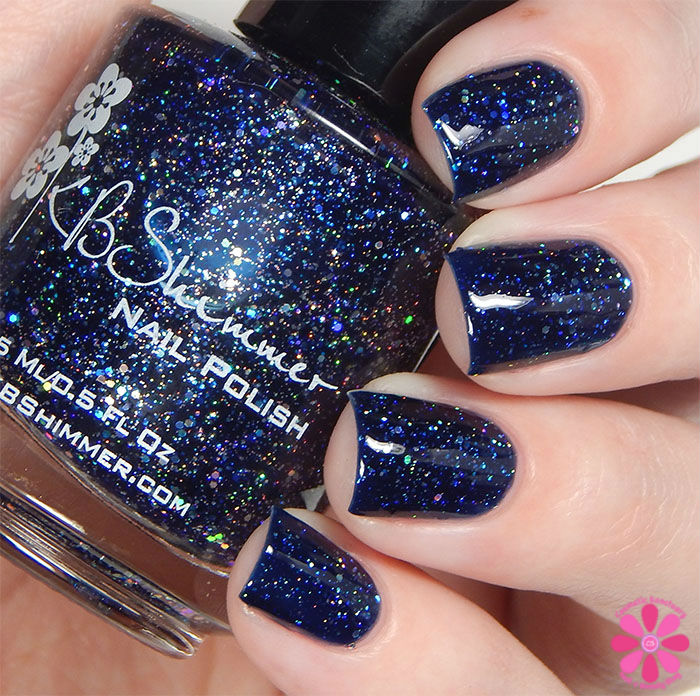 KBShimmer Fall 2015 Collection Carpe Denim Swatch