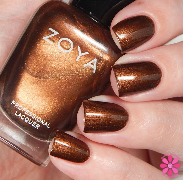 Zoya Fall 2015 Flair Collection Cinnamon Swatch