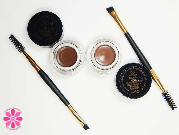 Milani Stay Put Brow Color in Brunette & Medium Brown Swatches & Review