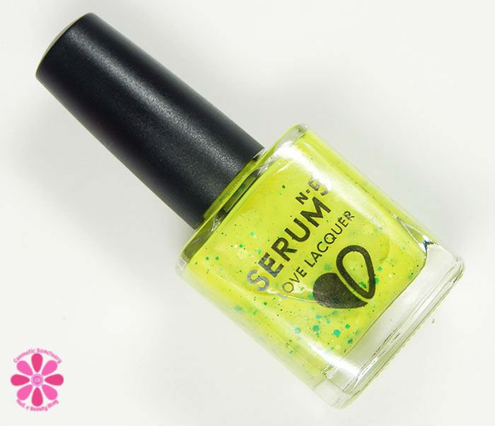 Serum No 5 August 2015 Swatches & Review