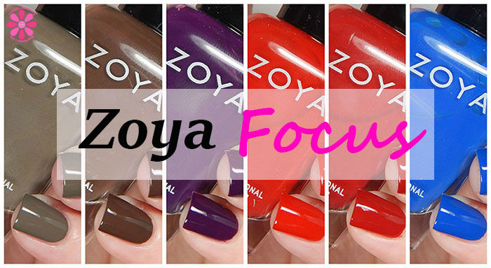 Zoya Fall 2015 Focus Collection Swatches & Review