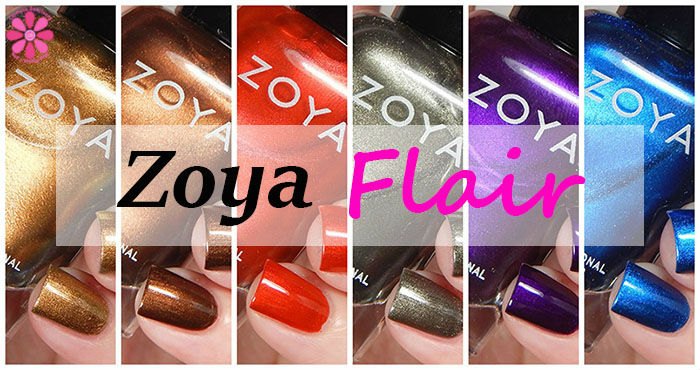 Zoya Fall 2015 Flair Collection Swatches & Review