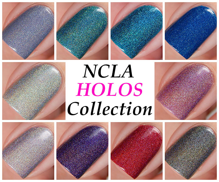 NCLA Holos Collection Swatches & Review