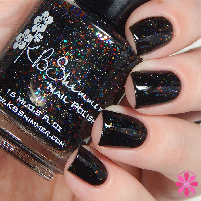 KBShimmer Fall 2015 Collection Dark & Twisty Swatch