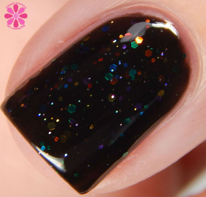 KBShimmer Fall 2015 Collection Dark & Twisty Swatch Macro