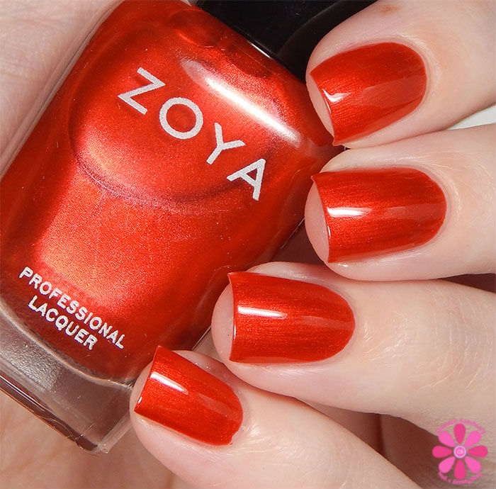 Zoya Fall 2015 Flair Collection Ember Swatch