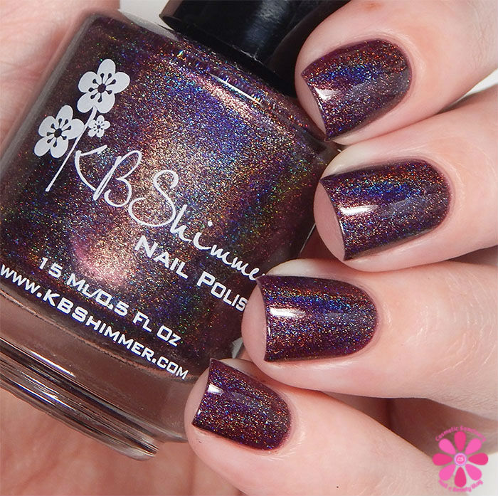 KBShimmer Fall 2015 Collection Fig-Get About It Swatch