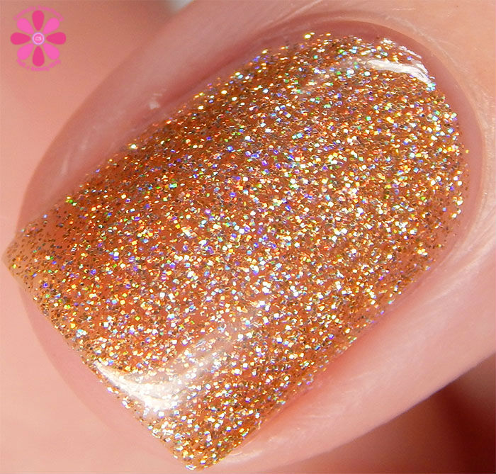 KBShimmer Fall 2015 Collection I Feel Gourd-geous Swatch Macro
