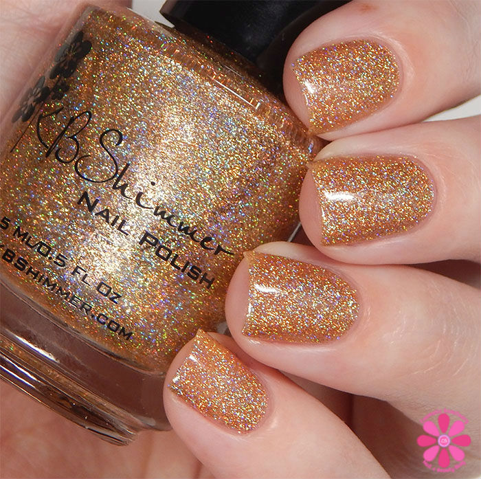 KBShimmer Fall 2015 Collection I Feel Gourd-geous Swatch