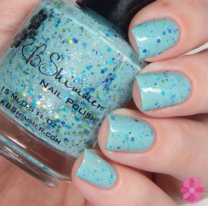 KBShimmer Fall 2015 Collection I've Seen Sweater Days Swatch