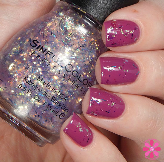 SinfulColors A Class Act Collection Night Owl Swatch