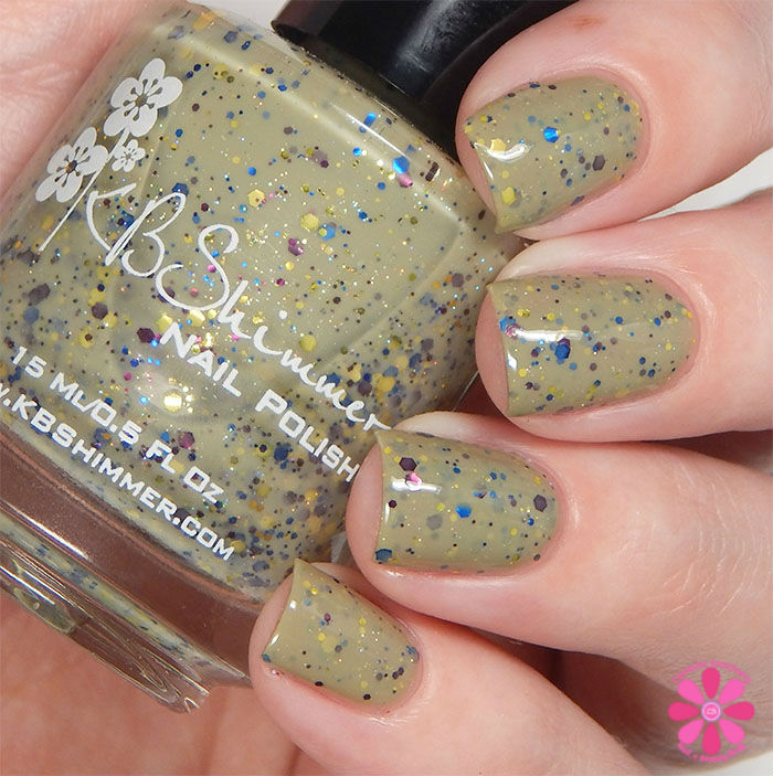 KBShimmer Fall 2015 Collection Open Toad Shoes Swatch