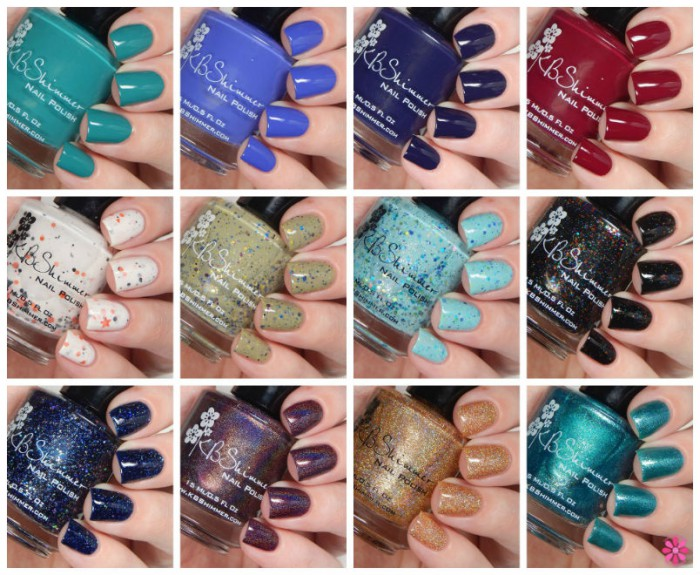 KBShimmer Fall 2015 Collection Swatches & Review