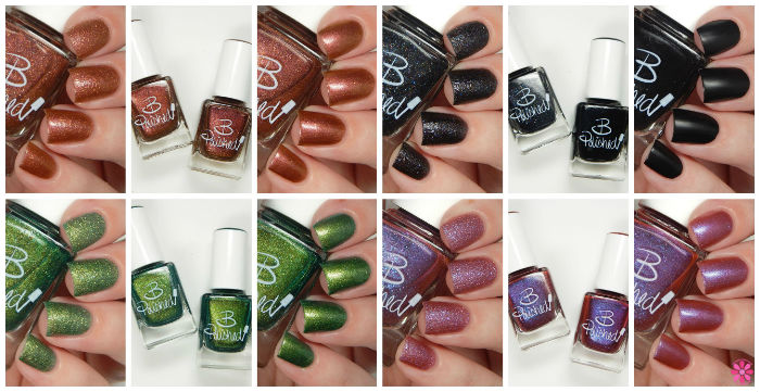 B Polished Sunsets & Sandy Beaches Collection Swatches & Review