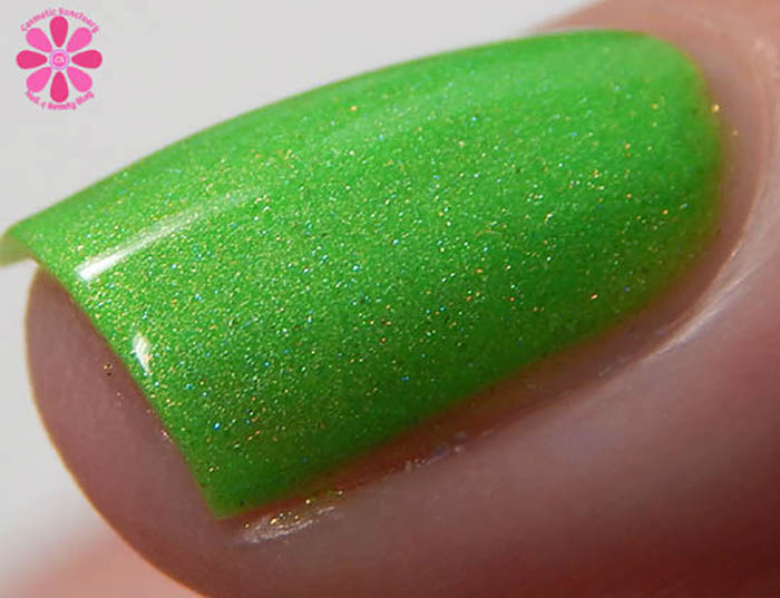 The Polish Bar Late Summer 2015 Collection Seychelles Swatch Macro