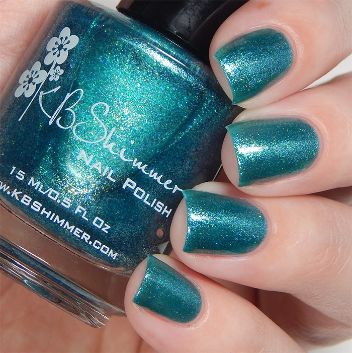 KBShimmer Fall 2015 Collection Talk Qwerty To Me Swatch
