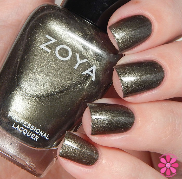 Zoya Fall 2015 Flair Collection Tris Swatch