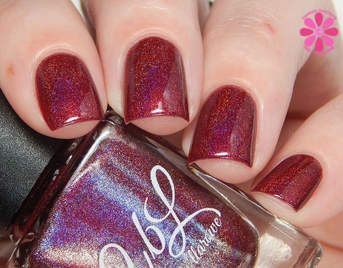 Colors by Llarowe Fall 2015 Collection Wine & Roses Swatch