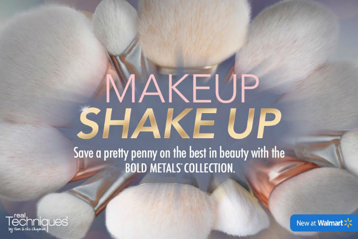 Get Ready For a Makeup Shake Up With a Bold New Line of Makeup Brushes at Walmart & A Giveaway!