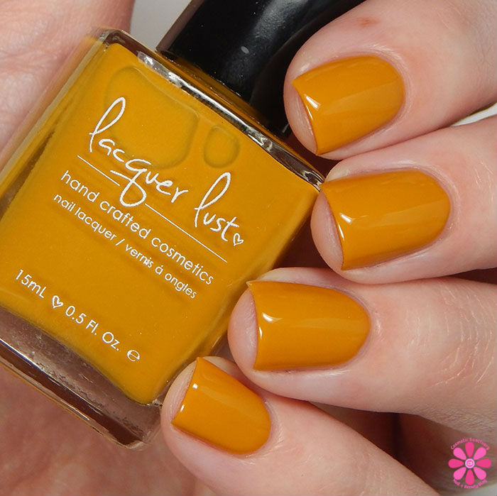 Lacquer Lust Fall 2015 Collection a-Maize-ing Swatch